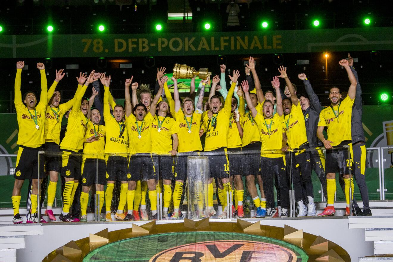 DFB Pokal Finale: Rasenballsport Leipzig - BV Borussia Dortmund